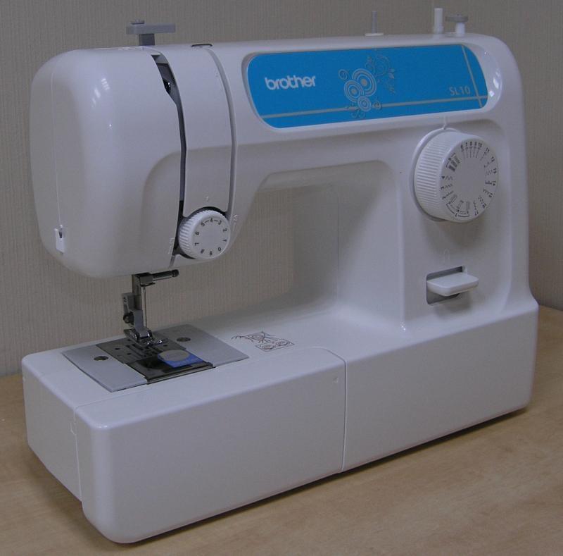 Вrother SL-10 – швейная машина с горизонтальным типом челнока