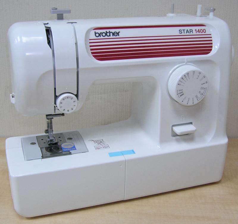 Вrother Star 1400 – бытовая швейная машина-полуавтомат