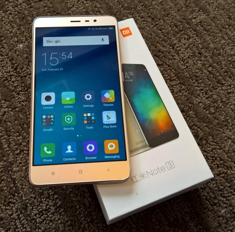 Комплектация Xiaomi Redmi 4 Pro (gold)