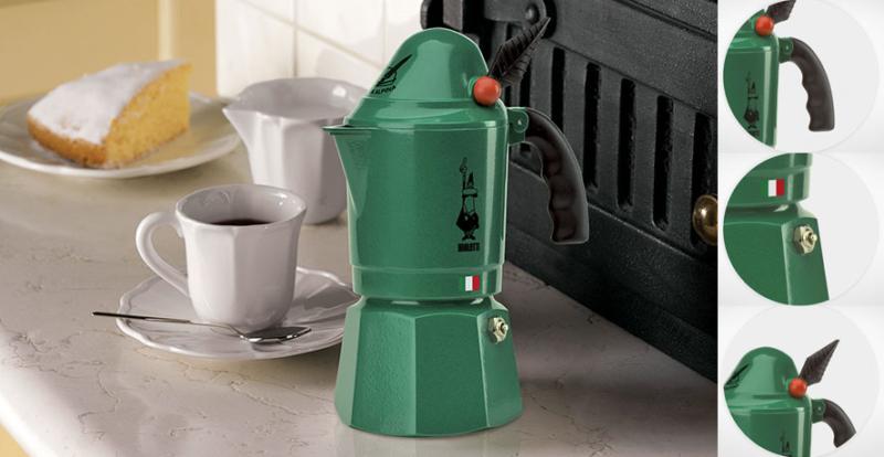 Биалетти – лучшая гейзерная кофеварка