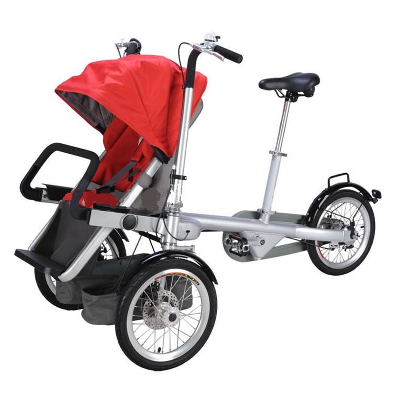Лучший детский велосипед-коляска