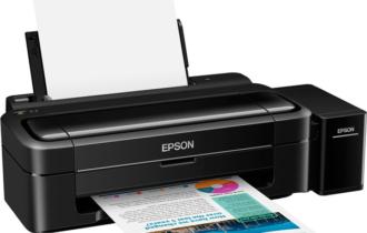 Обзор принтера EPSON L132