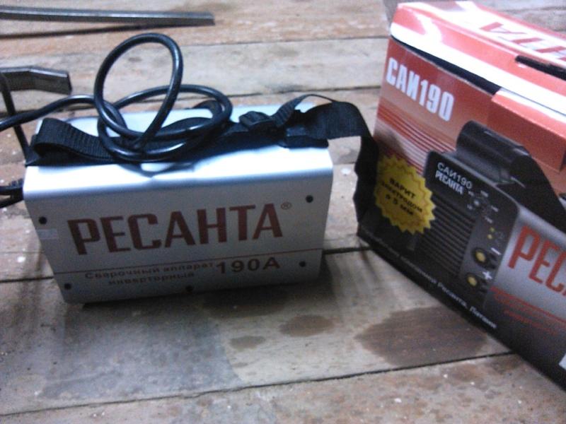 Комплектация Ресанта САИ 190