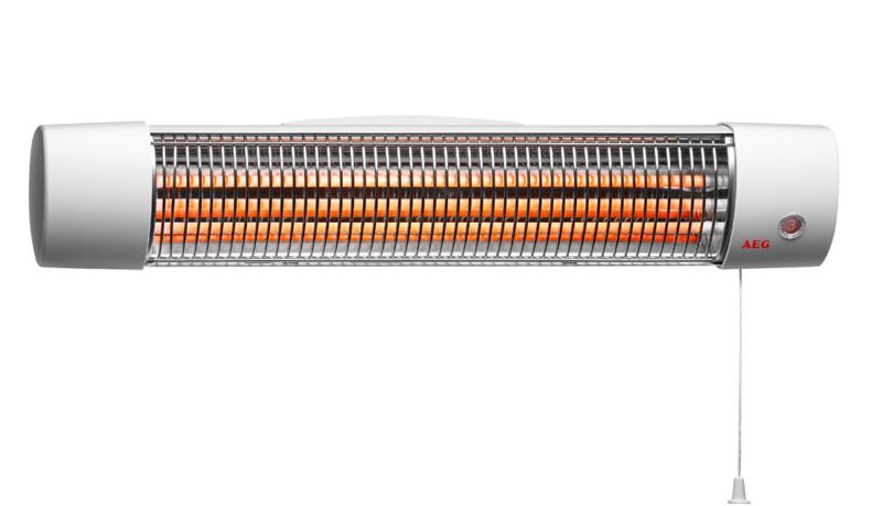 AEG IWQ 120 – лучший кварцевый обогреватель для дома