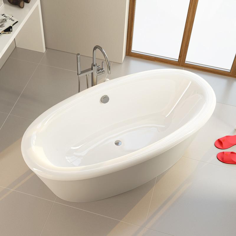 Alpen Amur – лучшая овальная акриловая ванна
