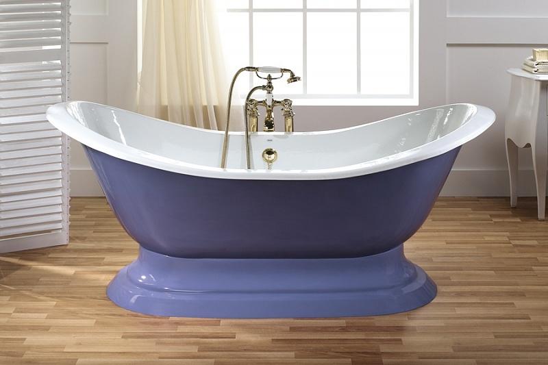 Antique Рекор – лучшая цветная чугунная ванна