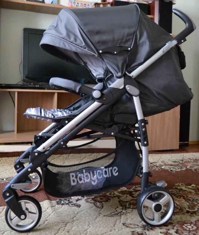 Baby Care GT4 - лучшая коляска трость зима лето