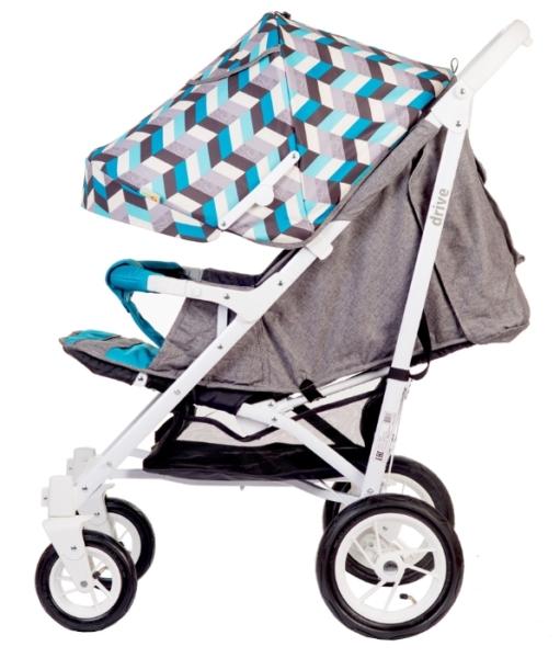 BabyHit Drive - лучшая коляска трость на надувных колесах
