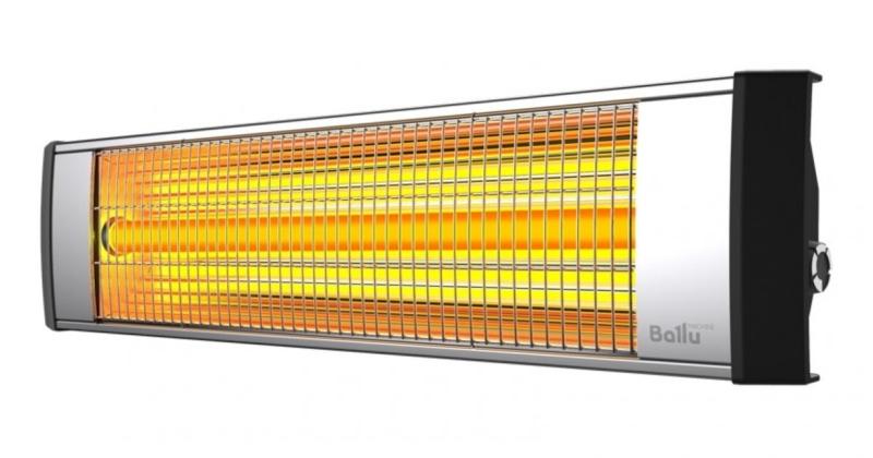 Ballu BIH-L – лучший кварцевый обогреватель ламповый