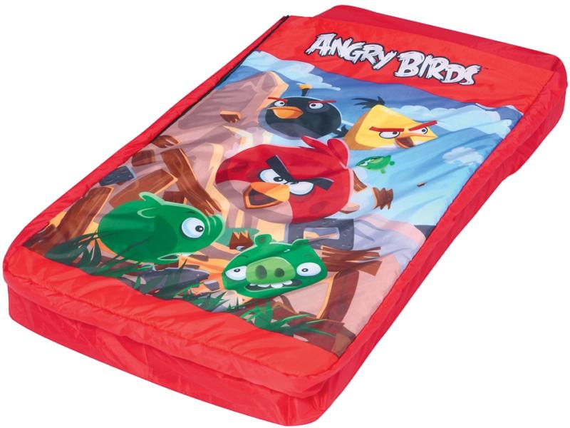 Bestway «Angry Birds» – лучшая надувная кровать для детей