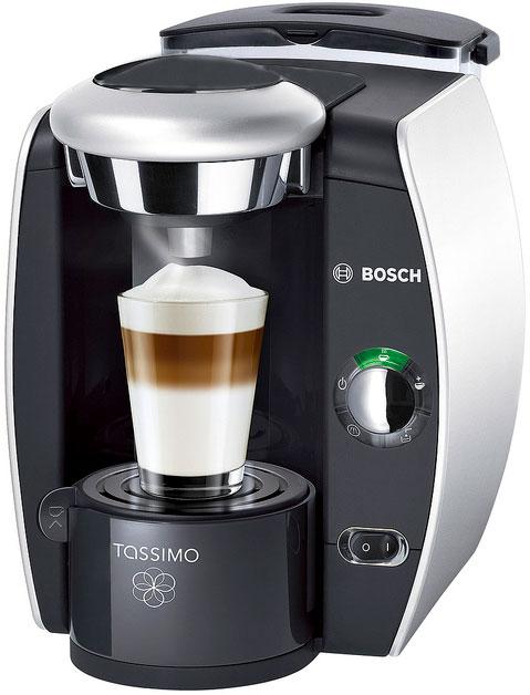 Bosch TAS 4011 EE Tassimo – лучшая капсульная кофемашина с капучинатором