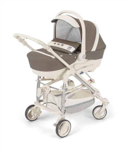 CAM Combi Family - лучшая коляска трость с люлькой для новорожденного