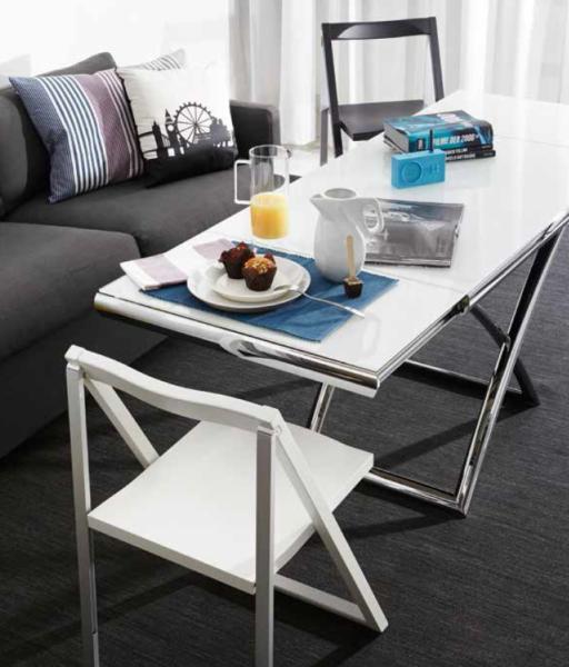 Calligaris Dakota CS/5078-G – лучший стол-трансформер для кухни