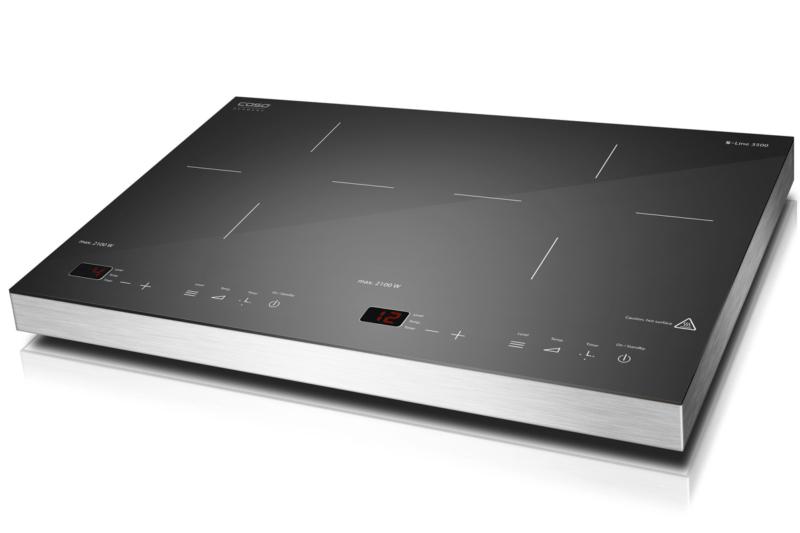 Caso S-Line 3500 – лучшая индукционная плита с плавной регулировкой мощности