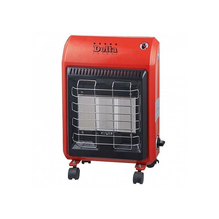 DELTA D-87GЕ – лучший газовый кварцевый обогреватель