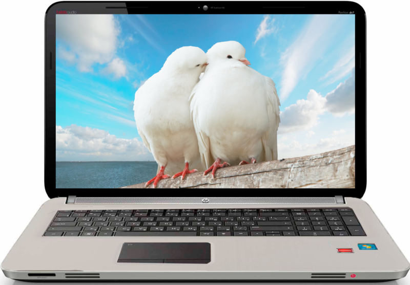 HP Pavilion dv6-6c60er LinenWhite - лучший женский ноутбук