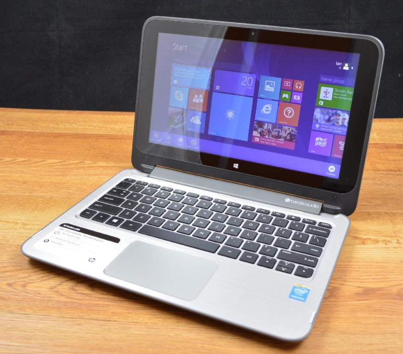 HP Pavilion x360 11 - лучший ноутбук с сенсорным экраном