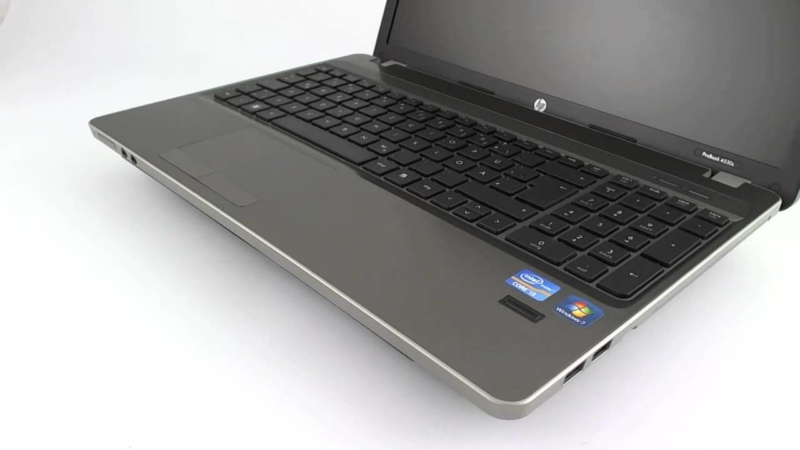 HP ProBook 4530s -лучший ноутбук с алюминиевым корпусом