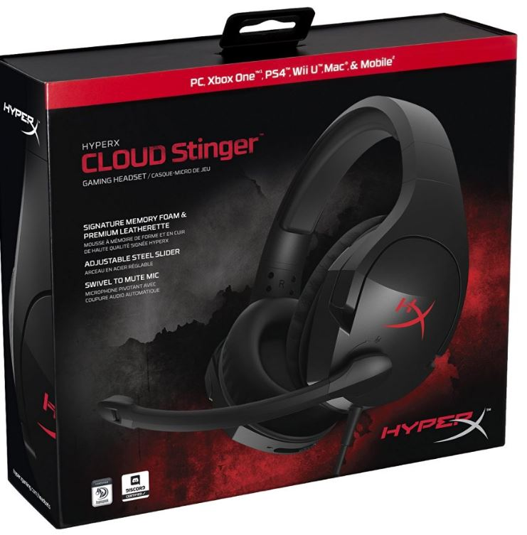 Характеристики HyperX Cloud Stinger