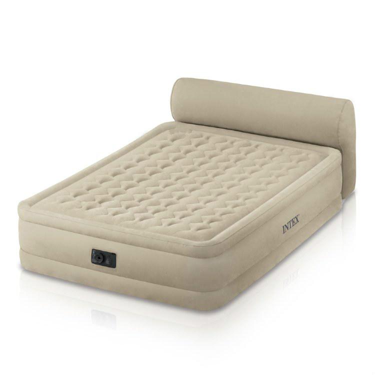 INTEX Supreme Air-Flow bed Fiber-Tech 64464 – лучшая надувная кровать со спинкой