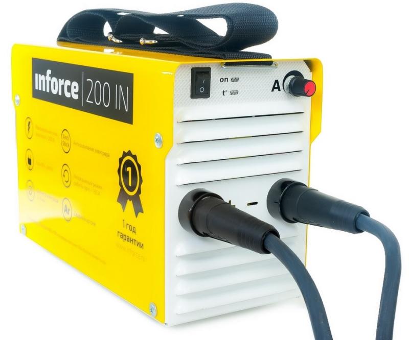 Лучший сварочный аппарат инверторного типа Inforce IN-200S