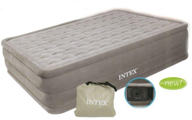 Intex Ultra Plush Twin 67952 – лучшая надувная ортопедическая кровать