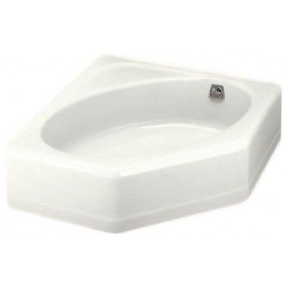 Kohler К-824 – лучшая асимметричная чугунная ванна