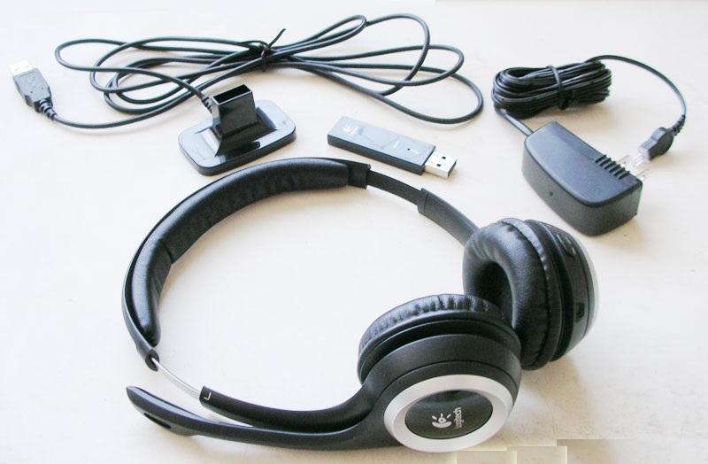 Logitech B750 Wireless – лучшие беспроводные наушники с микрофоном