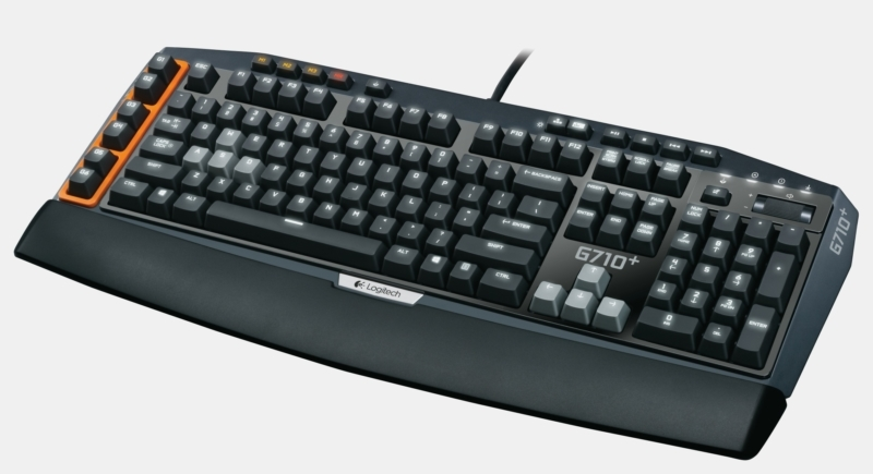 Logitech G710+ Mechanical Gaming Keyboard – лучшая клавиатура usb проводная