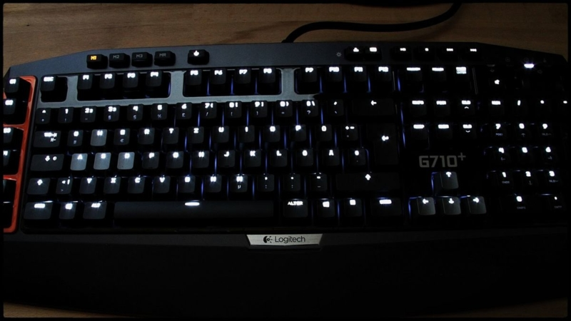 Плюсы Logitech G710+ Mechanical Gaming Keyboard
