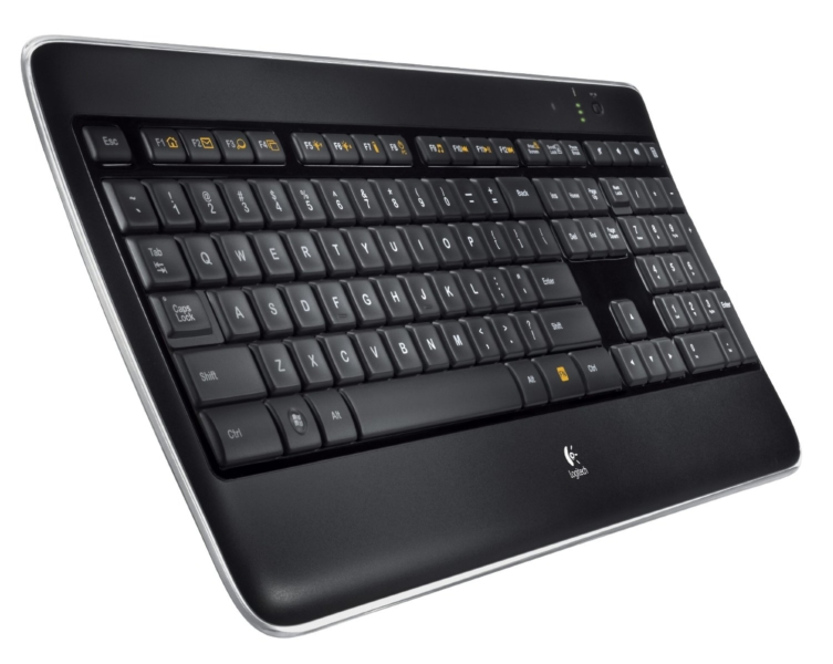 Logitech Illuminated Keyboard K800 – лучшая беспроводная клавиатура usb