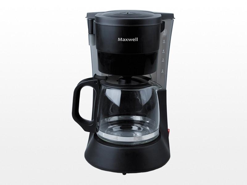 Maxwell MW-1650 – лучшая капельная кофеварка с постоянным фильтром