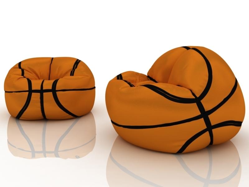 Me-shok 101 – лучшее кресло-мешок баскетбольный мяч