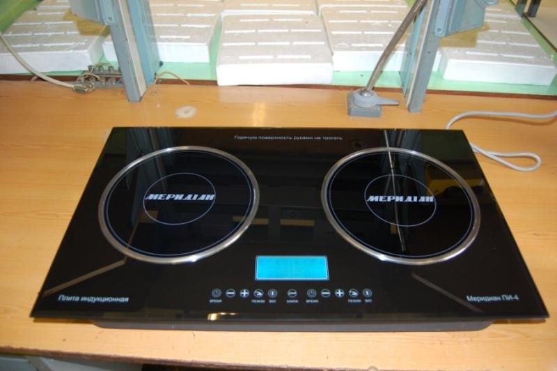 Меридиан ПИ-4 – лучшая индукционная плита с электрическими конфорками
