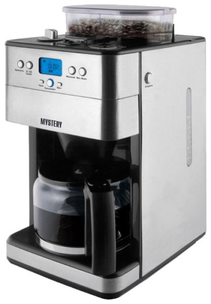 Mystery MCB-5125 – лучшая капельная кофеварка для зернового и молотого кофе