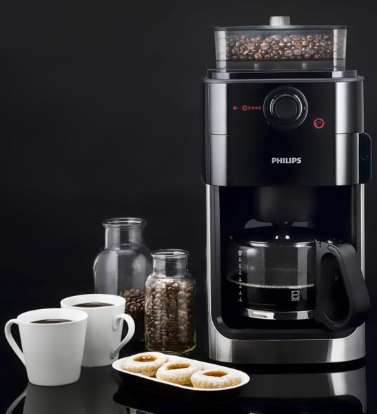 Philips HD 7761 – лучшая капельная кофеварка для зернового кофе