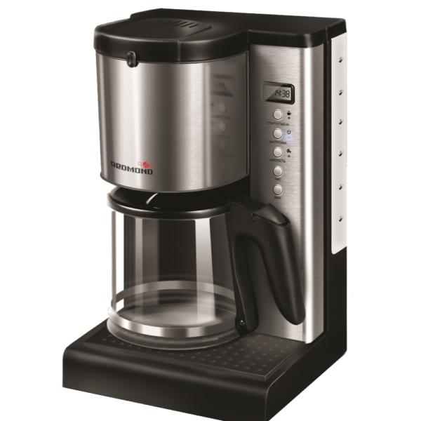 REDMOND RCM-1509S – лучшая капельная кофеварка с многоразовым фильтром