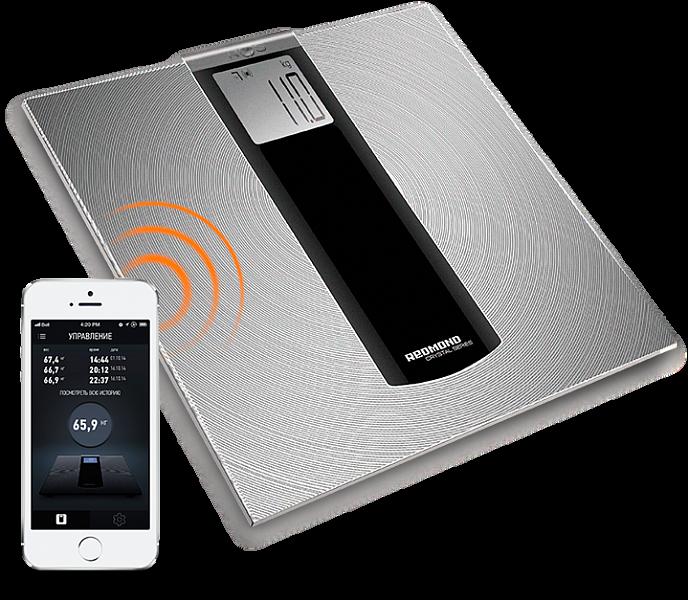 REDMOND SkyBalance 740S – лучшие напольные весы, управляемые с телефона