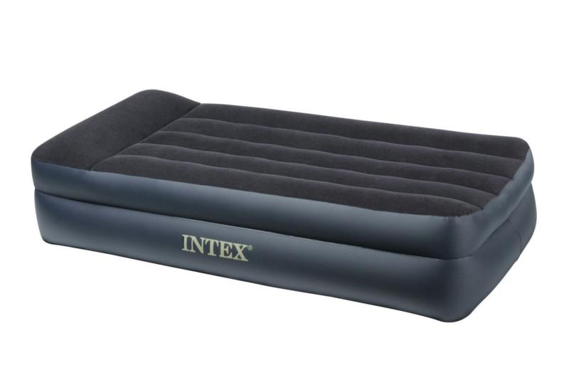 Rising Comfort INTEX 66721 – лучшая надувная кровать с матрасом