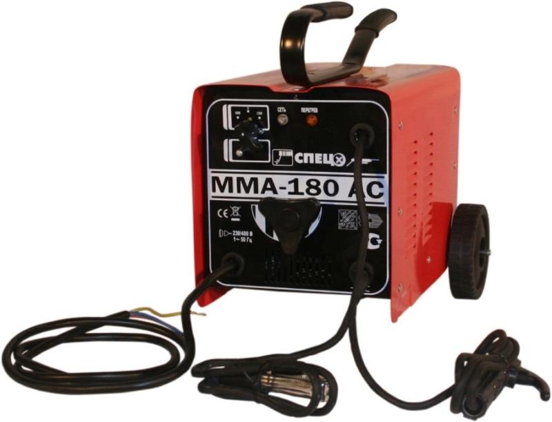 Лучший сварочный аппарат трансформаторного типа СПЕЦ ММА 180 AC-S