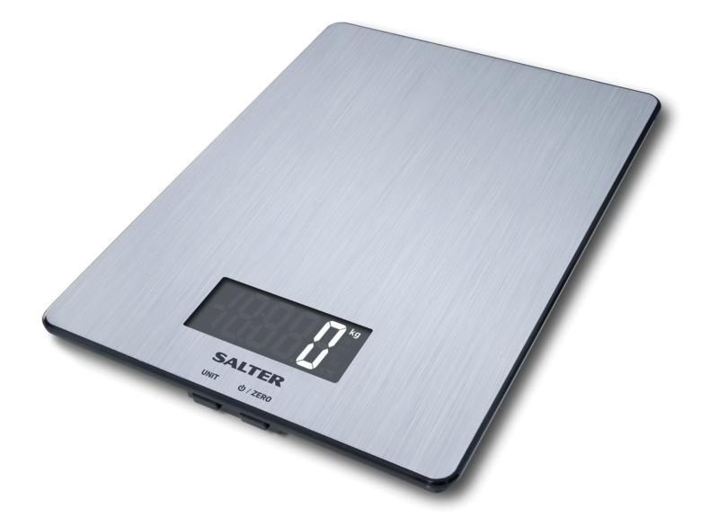 Salter 9059 SS3R – лучшие электронные напольные весы