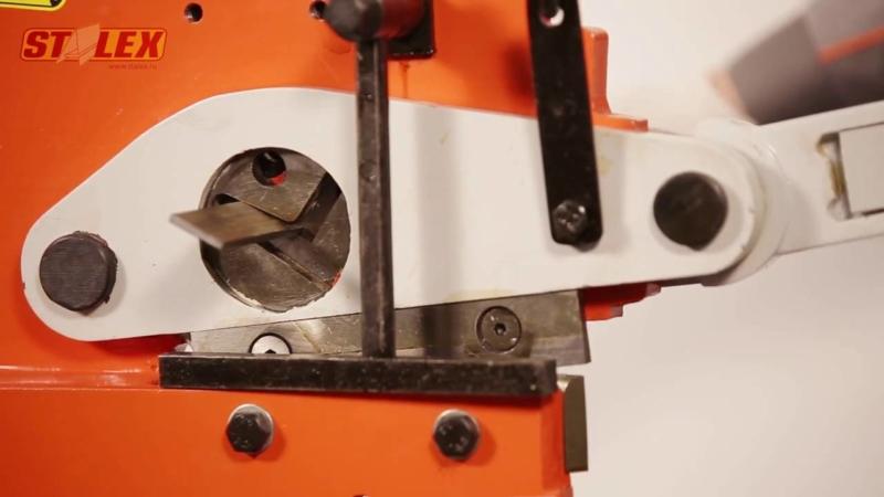 Stalex PBS-7 372302 − лучшие настольные ножницы по металлу