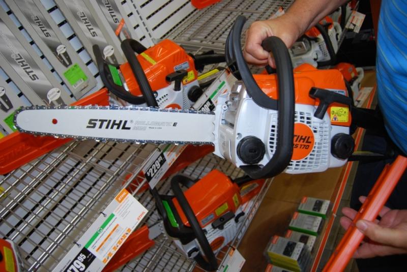 Бензопила Stihl 170 – компактность и функциональность