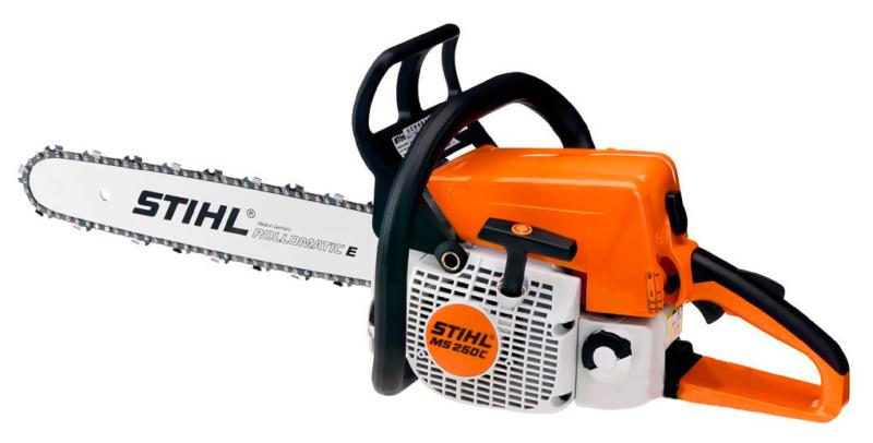 Бензопила Stihl 250 – безоговорочное удобство