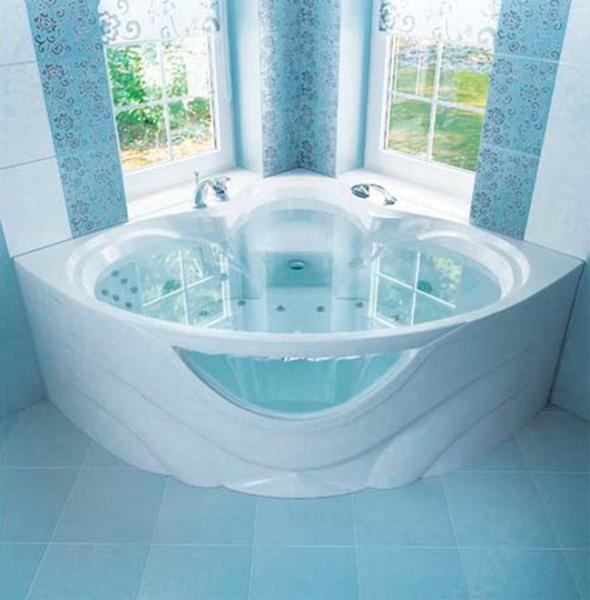 Triton Victoria – лучшая акриловая угловая ванна