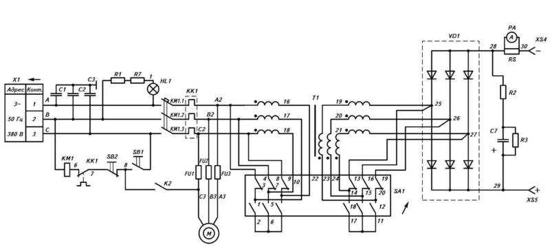 Характеристики ВД-306 СЭ