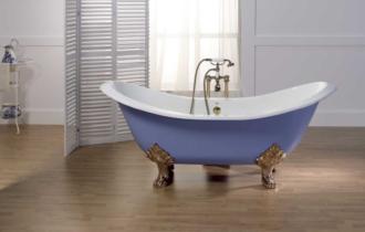 Обзор 10 видов лучших чугунных ванн