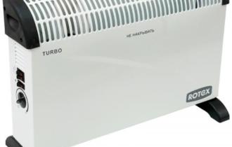 Обзор керамического обогревателя ROTEX RCX201-H