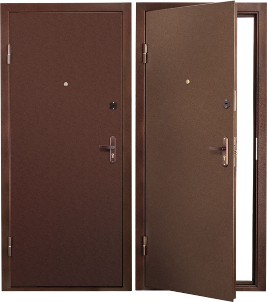Обзор 10 видов лучших металлических дверей