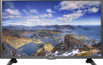 Обзор Led-телевизора LG 32LH513U